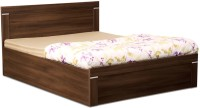 Debono Solitaire AD BS Bed Engineered Wood Queen Bed With Storage(Finish Color -  Acacia Dark Matt)