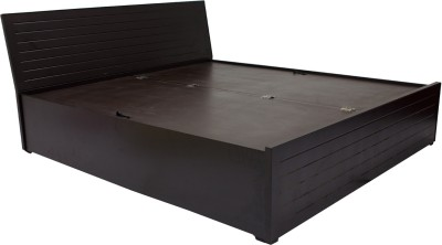 Woodpecker Engineered Wood King Bed With Storage