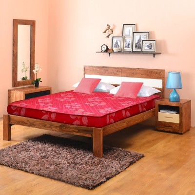 @home by Nilkamal Venus Engineered Wood Queen Bed(Finish Color -  NA  (Mattress Included))