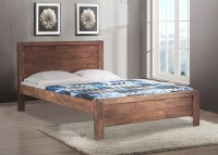 Durian WILLIAM/KB Solid Wood King Bed(Finish Color -  Walnut)