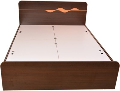 HomeTown SWIRL Engineered Wood King Bed With Storage