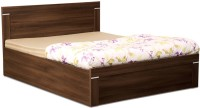 Debono Solitaire AD BS Bed Engineered Wood King Bed With Storage(Finish Color -  Acacia Dark Matt)