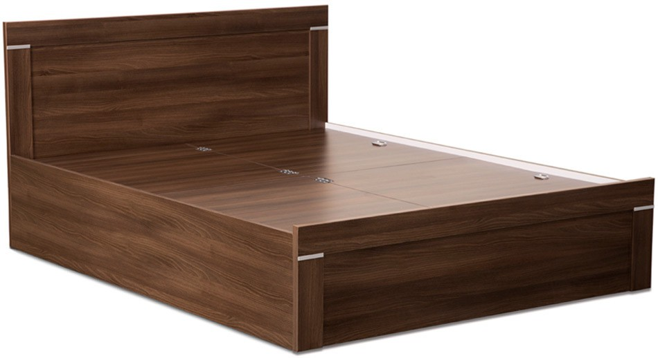 Debono Solitaire Engineered Wood King Bed With Storage