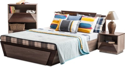 Durian THOMAS/Queen Bed/A Engineered Wood Queen Bed With Storage
