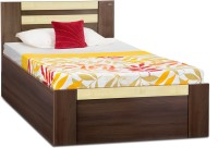 Debono Woody AD BS Bed Engineered Wood Single Bed With Storage(Finish Color -  Acacia Dark & Maple)