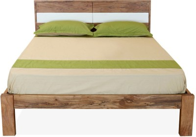 @home by Nilkamal Thor Solid Wood Queen Bed