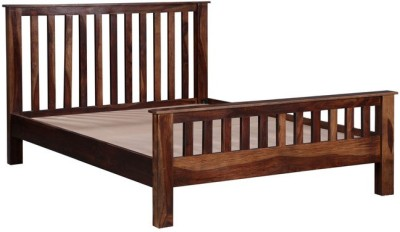 HomeEdge Solid Wood Queen Bed(Finish Color -  Provincial Teak)