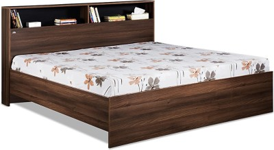 Debono Urban AD NB Bed Engineered Wood King Bed(Finish Color -  Acacia Dark & Black)
