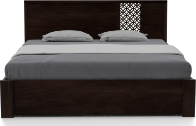 Urban Ladder Alaca Solid Wood King Bed With Storage(Finish Color - Mahogany)