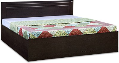 Debono Dazzle Engineered Wood Queen Bed With Storage(Finish Color - Wenge)