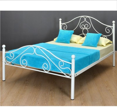 @home by Nilkamal Lizzy Metal Queen Bed(Finish Color -  NA)
