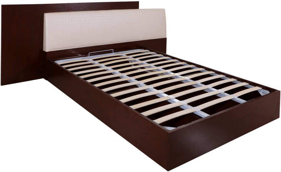 Evok Florida Engineered Wood King Bed With Storage