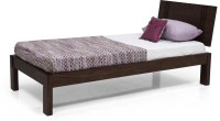 Urban Ladder Yorktown Solid Wood Single Bed(Finish Color -  Mahogany)