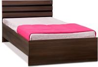 Debono Cocoa AD BL NB Bed Engineered Wood Single Bed(Finish Color -  Black & Acacia Dark Matt Finish)