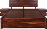 Evok Imperial Solid Wood Queen Bed With ...