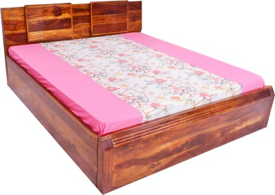 Nesta Furniture Turtle Solid Wood King Bed With Storage