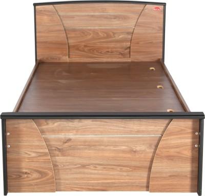Kurlon BERLIN Engineered Wood Single Bed(Finish Color - WALNUT)
