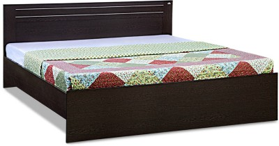 Debono Dazzle Engineered Wood Queen Bed(Finish Color - Wenge)