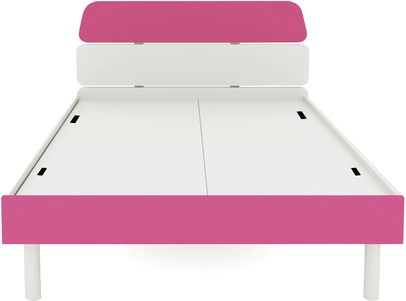 View UNiCOS Engineered Wood Single Bed(Finish Color -  Pink) Furniture (UNiCOS)