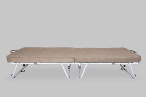 FurnitureKraft Metal Single Bed class=