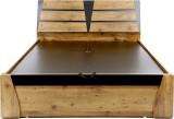 Evok Texas Engineered Wood Queen Bed Wit...
