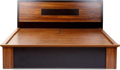 Evok Berlin Engineered Wood Queen Bed With Storage