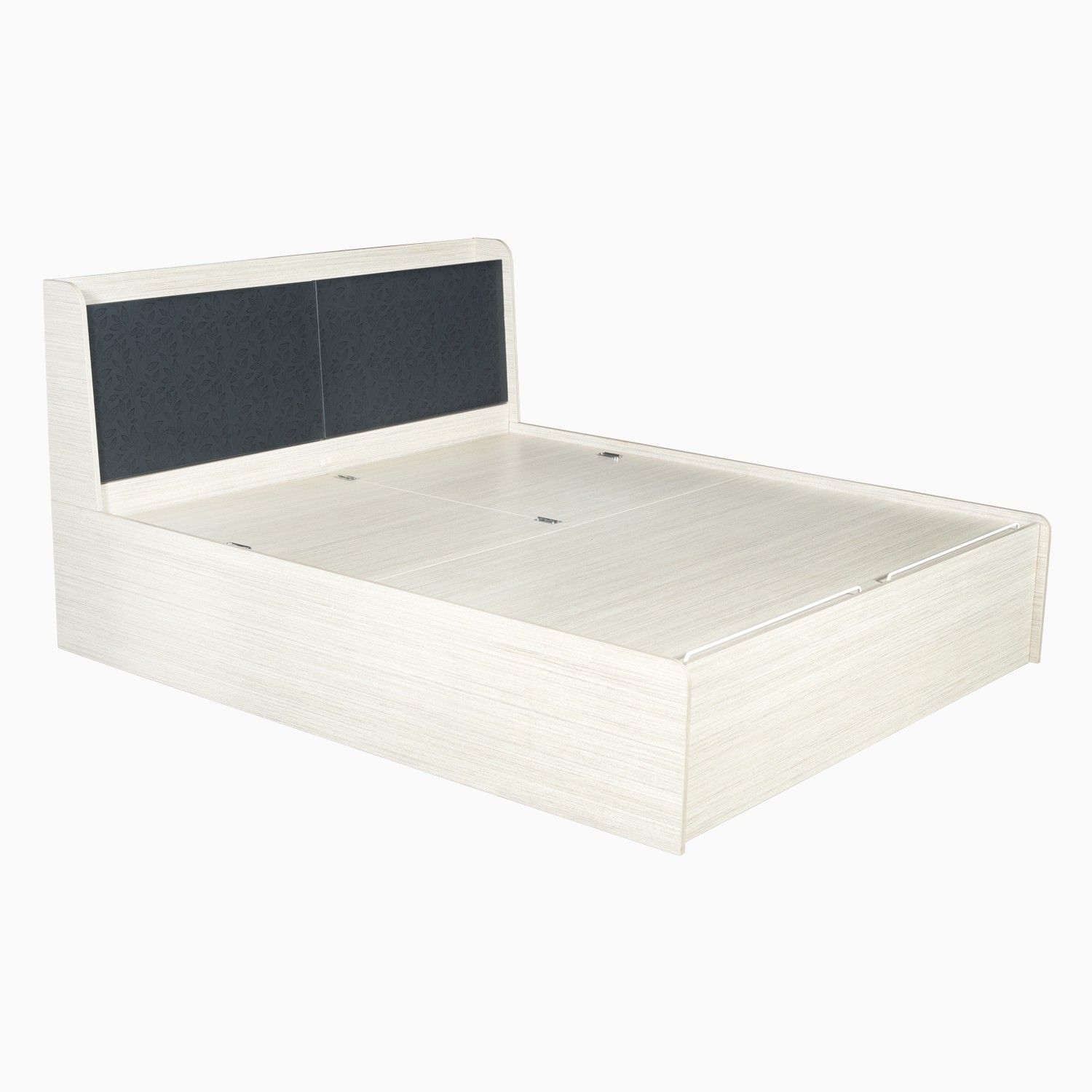 39ef91bbabf Godrej Interio Florid pro Engineered Wood King Bed With Storage ...