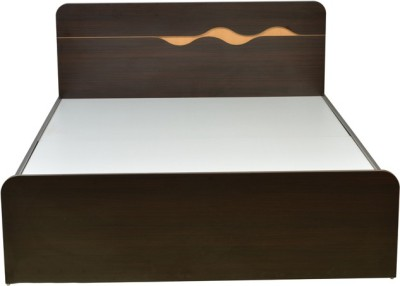 HomeTown Swirl Without Storage Engineered Wood Queen Bed