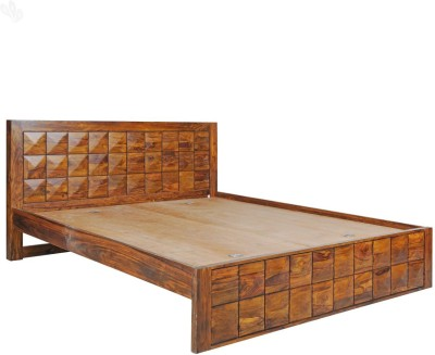 Royal Oak Sapphire Solid Wood King Bed