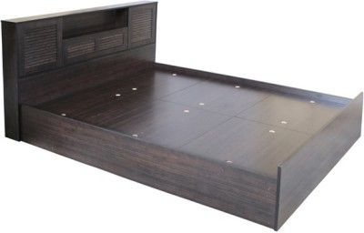 HomeTown Bali Super Engineered Wood King Bed With Storage