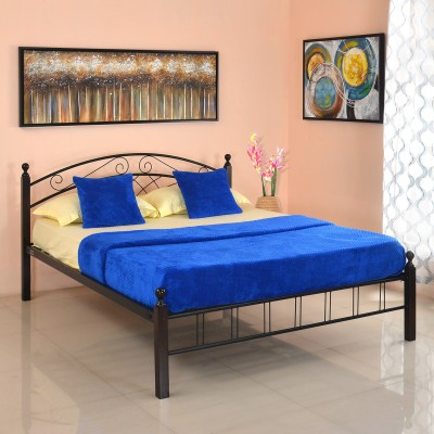 @home by Nilkamal Nimbo Metal Queen Bed(Finish Color -  NA)