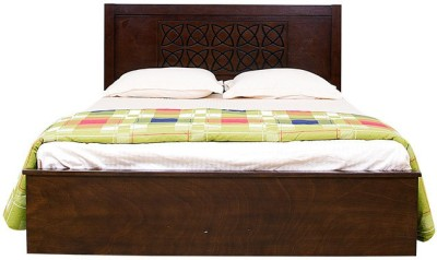 HomeTown Astra Solid Wood Queen Bed With Storage