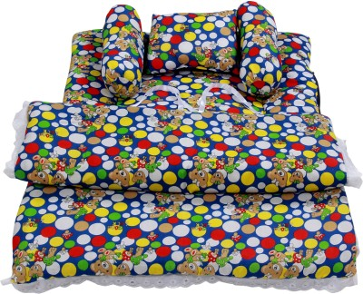 ROYAL SHRI OM BABY BEDS STANDARD CRIB(COTTON, Multicolor)