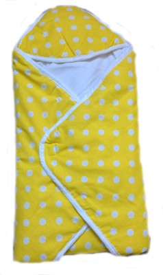 Krivi Kids Polka Dots Cotton, Polyester Bedding Set