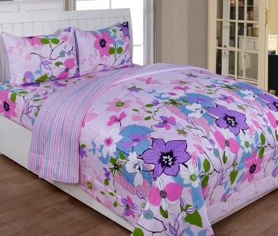 Shivalik Cotton Bedding Set(Pink)