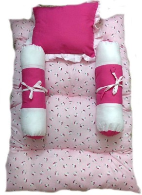 Krivi Kids Cat Polyester, Cotton Bedding Set