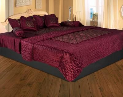 Rajasthan Crafts 2015 Cotton Silk Blend Bedding Set