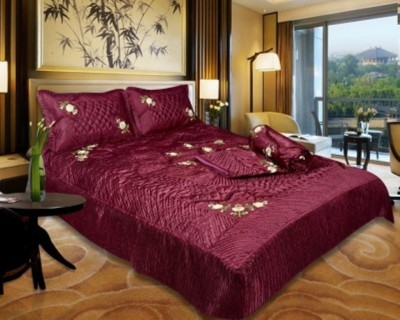 DEVANK Raw Silk Bedding Set