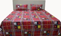 Adishma Cotton Bedding Set(Red)