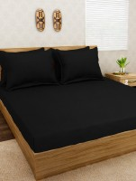 Jersey Dreams Cotton Bedding Set(Black)