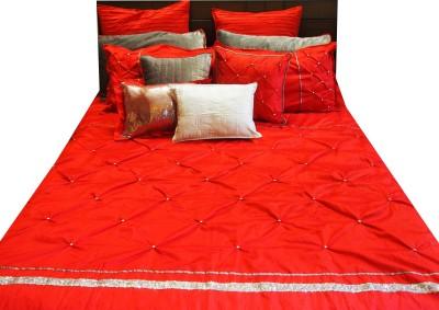 Decor Muse Polydupion, Velvet, Cotton Bedding Set