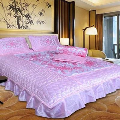El Sandlo Raw Silk Bedding Set(Pink)