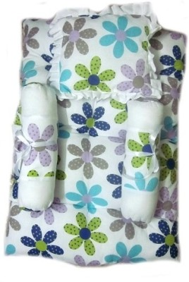 Krivi Kids Floral Polyester, Cotton Bedding Set