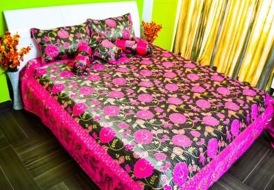 SNSURBANDECORS Cotton Silk Blend Bedding Set
