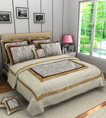A,la Mode Creations Cotton Silk Blend Bedding Set