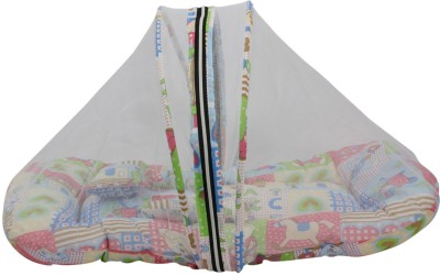 Glitz Baby Shades Of Paradise Polyester, Cotton Bedding Set