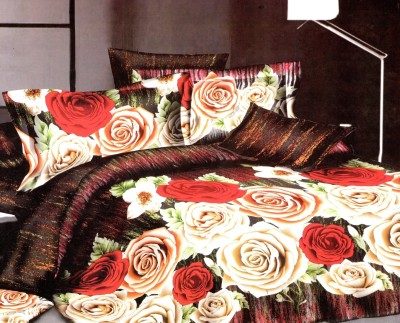 Instyles Solitaire Polyester, Cotton Bedding Set