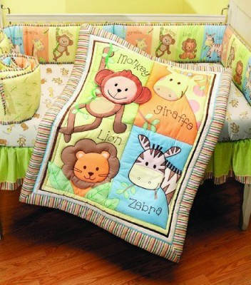 Summer Infant, Inc. Polyester, Cotton Bedding Set