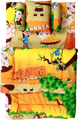 ROYAL SHRI OM BABY BEDS Baby Carry Bed CARTOON(POLYCOTTON, Multicolor)
