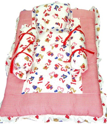 Baby Basics Printed Cotton Bedding Set